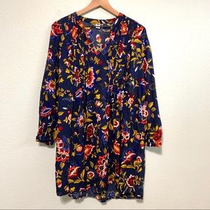 Old navy floral long sleeve dress M